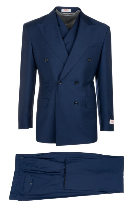 EST Men's Double Breasted Suit by Tiglio Rosso