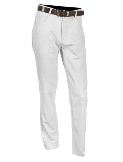 Men's Cotton / Linen Pants by Merc/InSerch - White