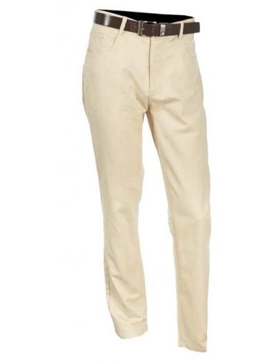Men's Cotton / Linen Pants by Merc/InSerch - Natural