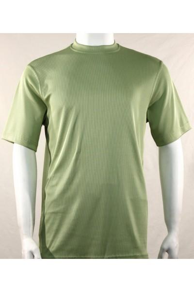 Bassiri S/S Mens Knit Microfiber T-Shirt Mint