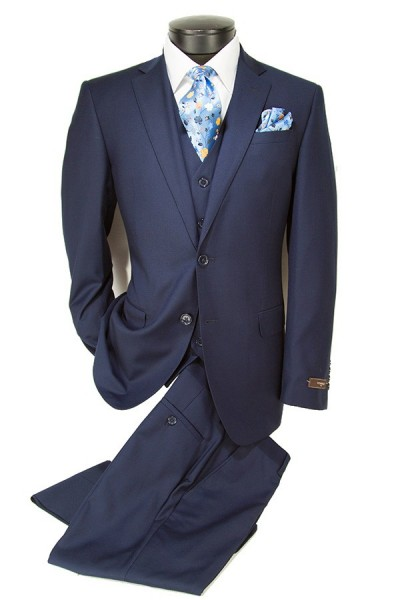 Vitarelli Mens Suit Navy