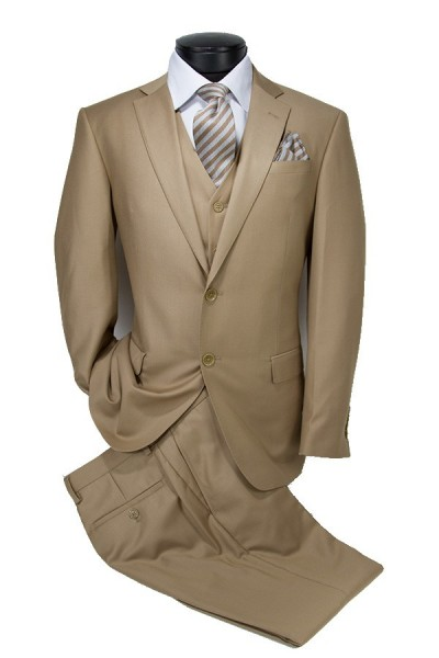 Vitarelli Mens Suit Cornell Tan