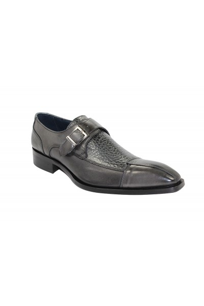 Duca by Matiste Men's Shoes - Made in Italy - Cava Dk Grey