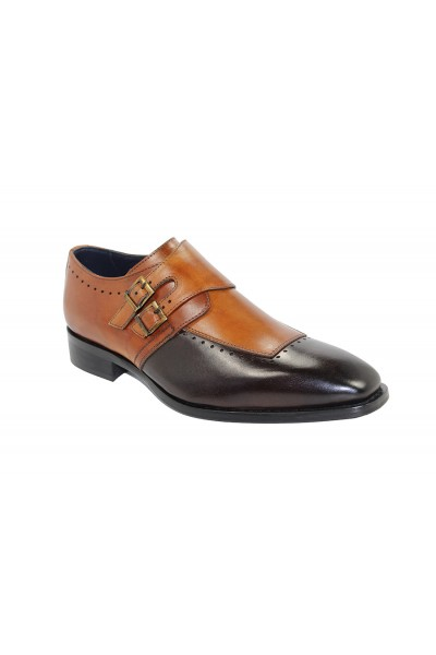 Duca by Matiste Men's Shoes - Made in Italy - Como Chocolate Cognac