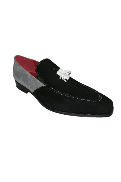 Men's Shoes by Emilio Franco - Black/Combo