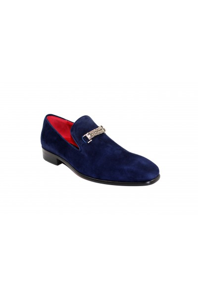 Men's Shoes by Emilio Franco - Navy