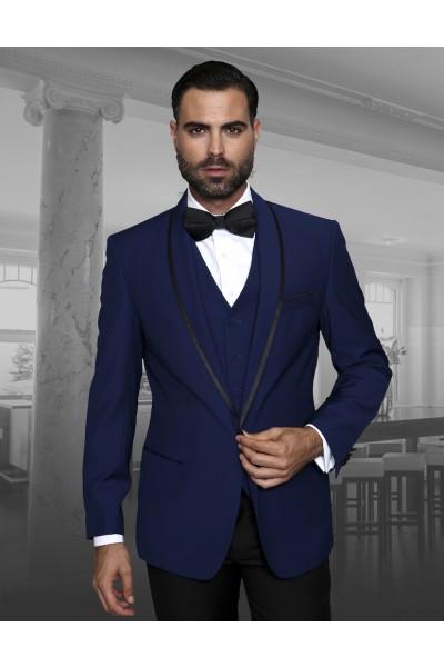 Men's Fashion Tux by STATEMENT - Genova Sapphire