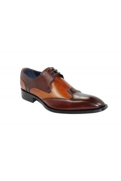 Duca by Matiste Men's Shoes - Made in Italy - Milano Brown Cognac