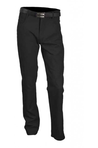 Men's Cotton / Linen Pants by Merc/InSerch - Black