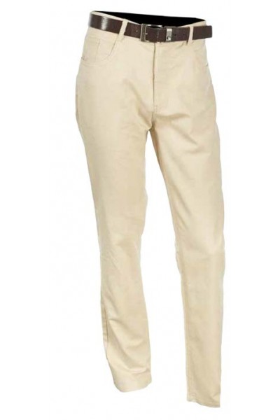 Men's Cotton / Linen Pants by Merc/InSerch - Natural