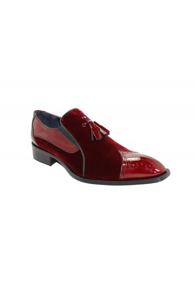 Duca by Matiste Men's Shoes - Made in Italy - Sarno Burgandy