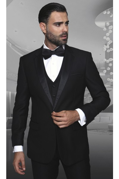 Men's Fashion Tux by STATEMENT - Taranto Black